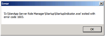 Startupindicator.exe exited with error code 1603.png